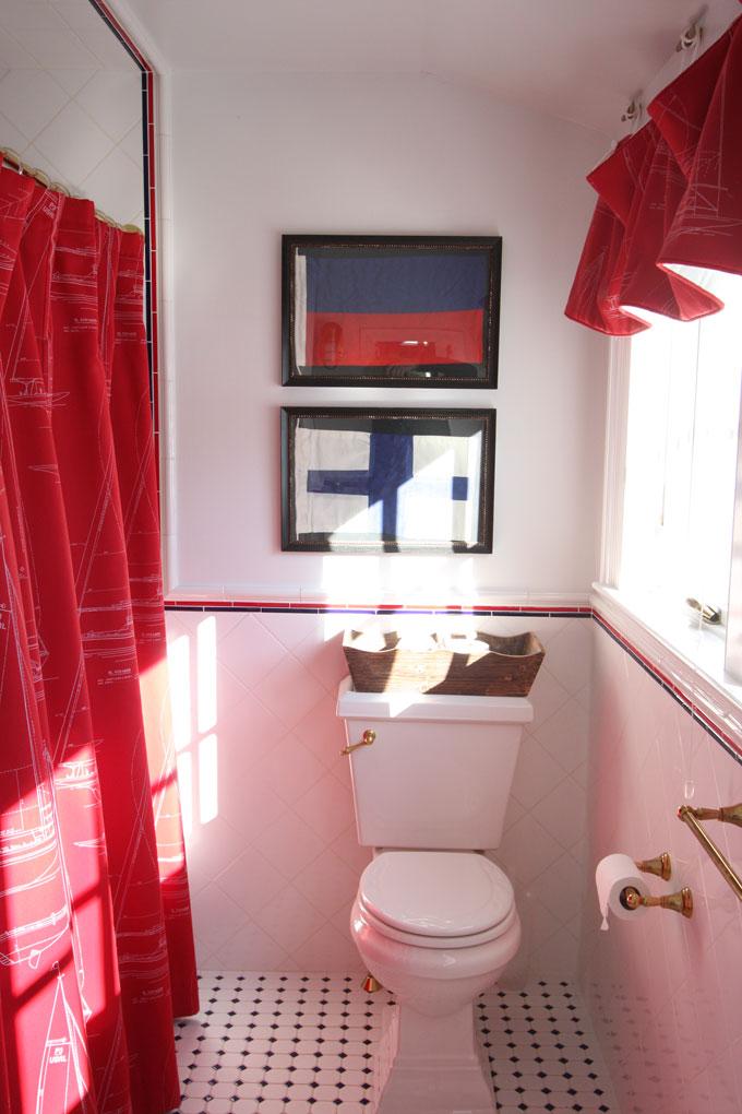 Vacation home guest bathroom interior design york me for Vacation home interior design