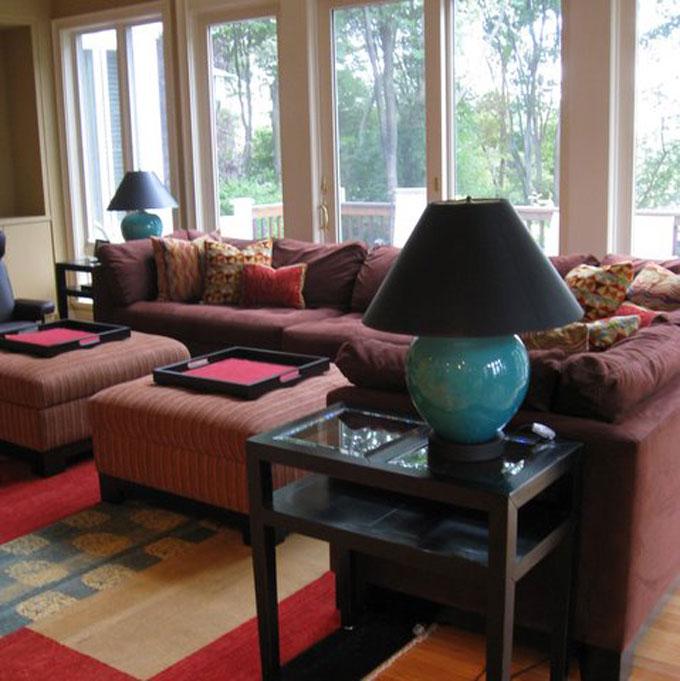 Family Room Interior Design Chestnut Hill Ma