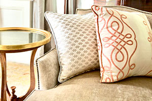 accessory fabric interior design