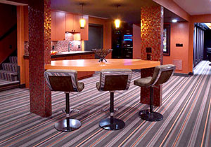 Basement Interior Design Newton